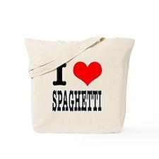 I Heart (Love) Spaghetti Tote Bag