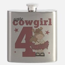 Little Cowgirl is 4 Flask