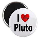 I Love Pluto Magnet