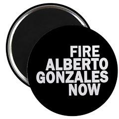 Fire Gonzales Magnet
