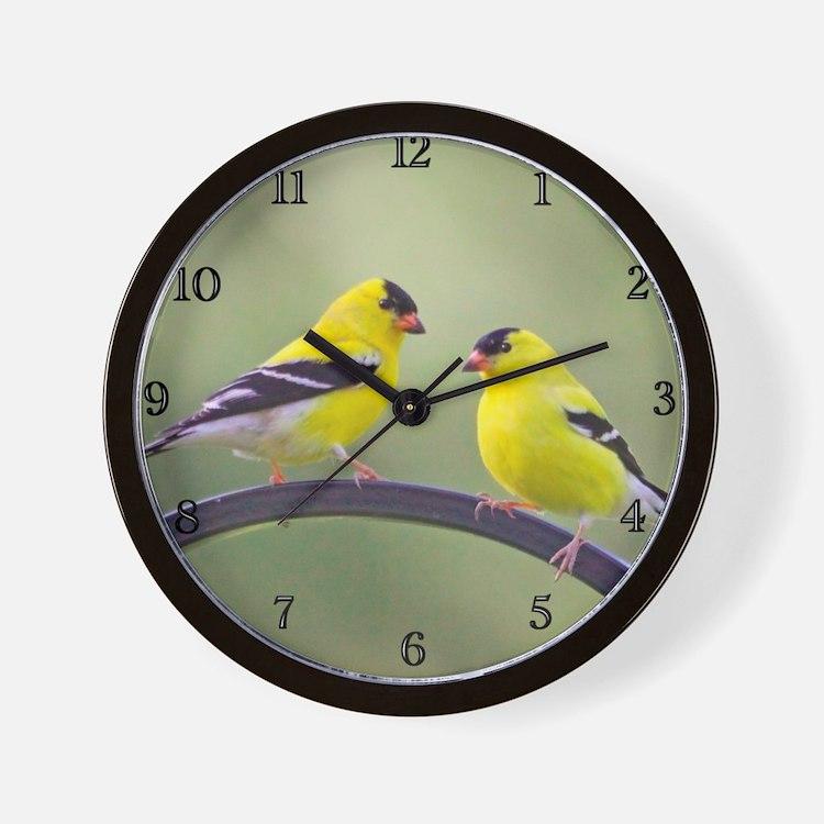 goldfinchclock Wall Clock