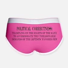 Political Correctness Definition Women's Boy Brief