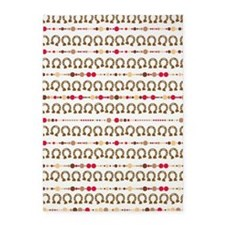 cowgirl lucky horseshoe pattern 5'x7'Area Rug