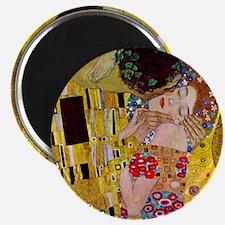 The Kiss detail, Gustav Klimt, Vintage Art  Magnet