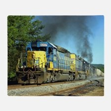 CSX Smoker Throw Blanket