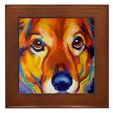 Shepherd #2 Framed Tile