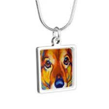 Shepherd #2 Silver Square Necklace