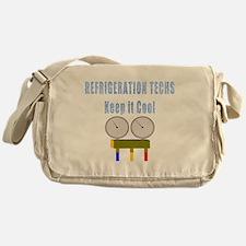 Refrigeration techs keep it cool Messenger Bag
