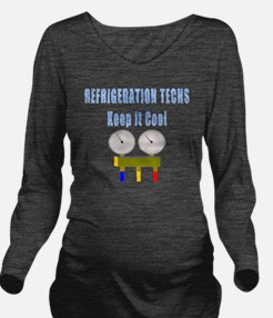 Refrigeration techs  Long Sleeve Maternity T-Shirt