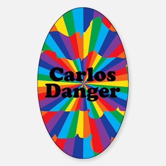 Carlos Danger Sticker (Oval)