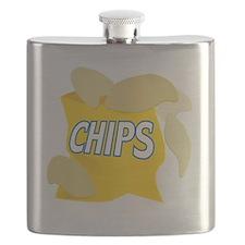bag of potato chips Flask