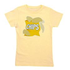 bag of potato chips Girl's Tee