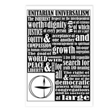 Unitarian Universalist Pr Postcards (Package of 8)