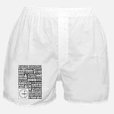 Unitarian Universalist Principles Boxer Shorts
