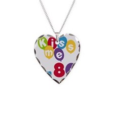 Kiss Me I'm 80 Necklace