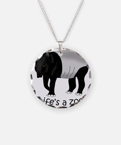 Malayan Tapir Dark Necklace