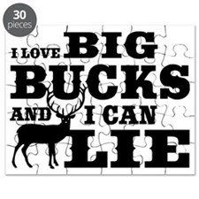 I Love Big Bucks Puzzle