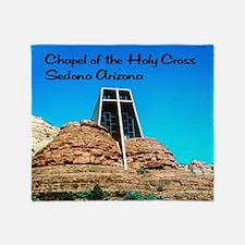 Holy Cross Chapel Throw Blanket