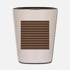 stripes horizontal Shot Glass