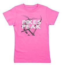 Pikes Peak  2800 x 2800 for dark Girl's Tee