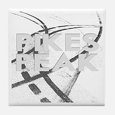 Pikes Peak  2800 x 2800 for dark Tile Coaster
