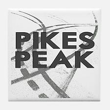 Pikes Peak  2800 x 2800 copy Tile Coaster
