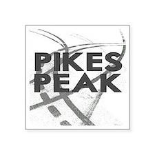 "Pikes Peak  2800 x 2800 cop Square Sticker 3"" x 3"""