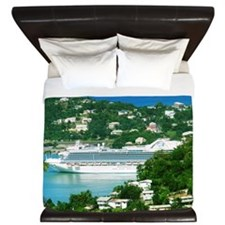 Cruise Ship King Duvet