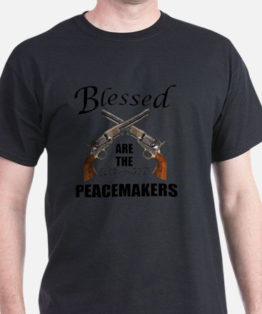 Blessed Are The Peacekeepers T-Shirt
