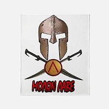 Spartan Molon Labe Throw Blanket