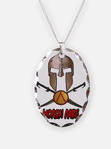 Spartan Molon Labe Necklace