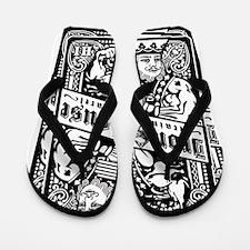 Iron House King Flip Flops