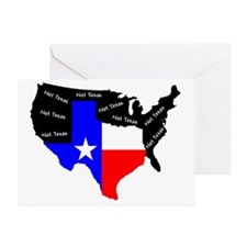 Not Texas Greeting Card