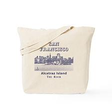 SanFrancisco_10x10_v4_AlcatrazIsland Tote Bag