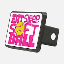 Eat, Sleep, Softball - Pin Hitch Cover