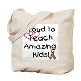 Special education teacher Canvas Totes