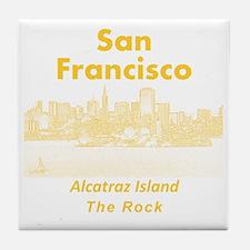 SanFrancisco_10x10_v1_AlcatrazIsland_ Tile Coaster