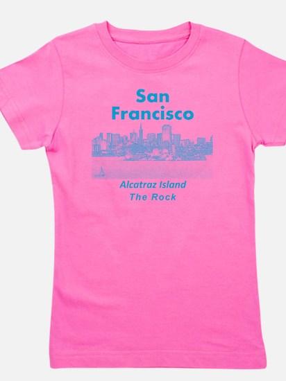 SanFrancisco_10x10_v1_AlcatrazIsland_Bl Girl's Tee