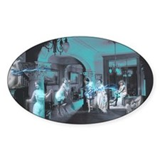 Blue Brothel Collage Decal