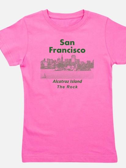 SanFrancisco_10x10_v1_AlcatrazIsland_Gr Girl's Tee