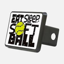 EAT, SLEEP, SOFTBALL - Bla Hitch Cover