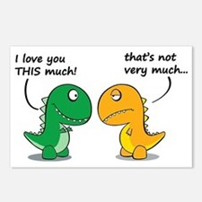 Cute Dinosaurs Postcards (Package of 8)