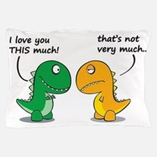 Cute Dinosaurs Pillow Case