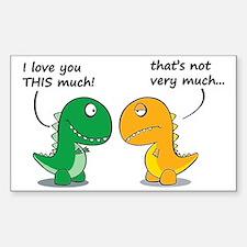 Cute Dinosaurs Decal