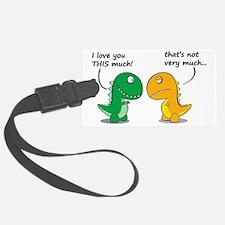 Cute Dinosaurs Luggage Tag