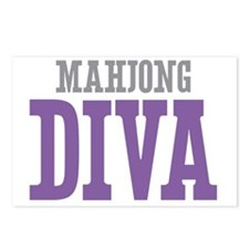Mahjong DIVA Postcards (Package of 8)