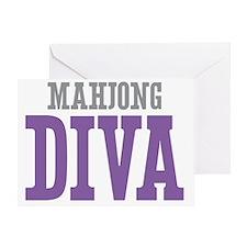 Mahjong DIVA Greeting Card