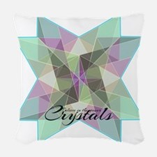 Crystal Magic Woven Throw Pillow