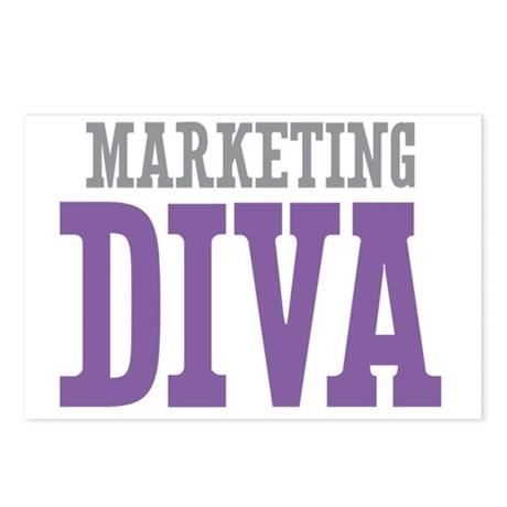 Marketing DIVA Postcards (Package of 8)