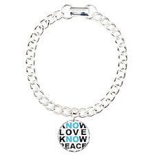 Know Love... Charm Bracelet, One Charm